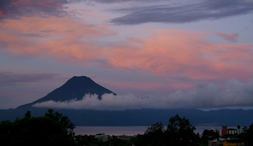 Sunrise at Lake Atitlan, Guatamala