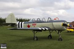 G-ZYAK - 877415 - Private - Bacau Yakovlev Yak-52 - 120826 - Little Gransden - Steven Gray - IMG_1543