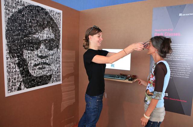 Digital Communities - Exhibition: Dark Glasses