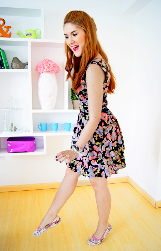 Floral dress by The Joy of Fashion (1)