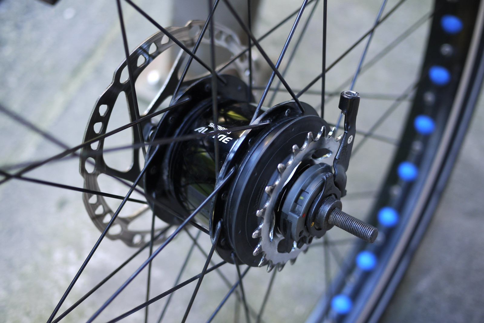 Shimano Alfine 8 Speed Internal Gear Hub (IGH)