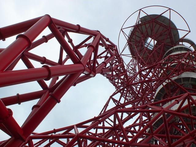 Anish Kapoor's Orbit sculpture/observation tower
