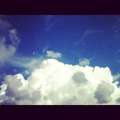 【写真】夏雲、健在。 #空 #雲 #sky #cloud  #カコソラ