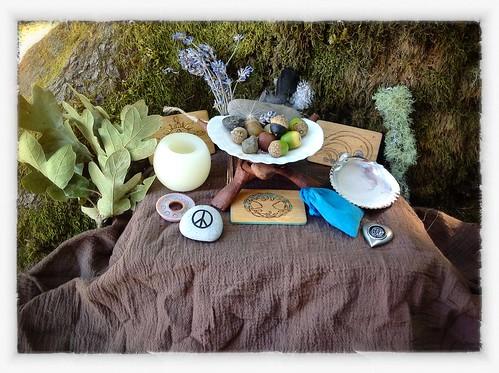 Campsite Altar