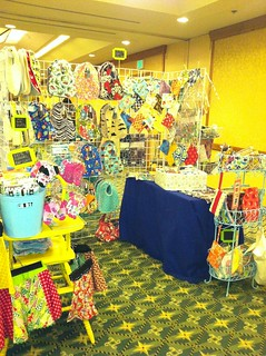 My booth @ the Penelope Lane Summer Craft Show 2012