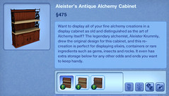 Aleister's Antique Alchemy Cabinet