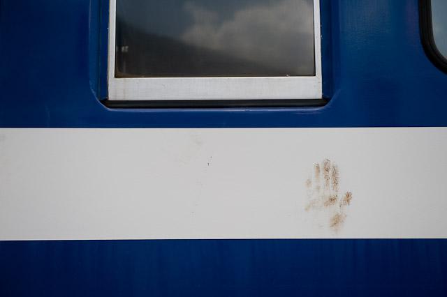 流鉄流山線2000系2001F 青空 クモハ2001 廃車解体搬出