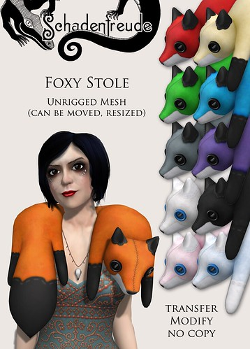 foxy stoles for arcade
