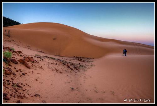 sunrise utah sand photographer unitedstates tracks ripples hdr kanab sanddunes coralpinksanddunes hdrlandscape