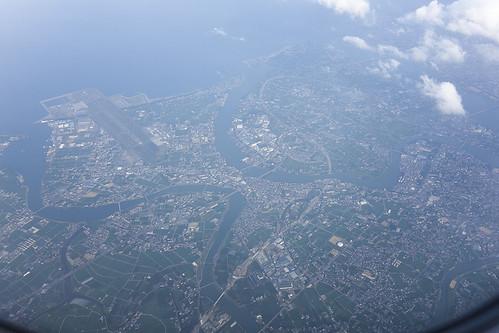 日本 aerialphoto tokushima tks aerialphotograph airplaneview 徳島 tokushimaairport airpport 徳島県 徳島市 rjos 徳島空港 鳴門市 機窓 dscrx100