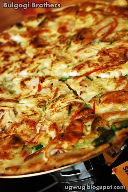 Haemul Pajeon - Korean pancake