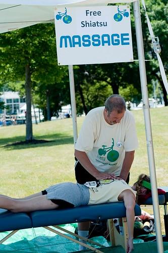 Free Shiatsu Massage