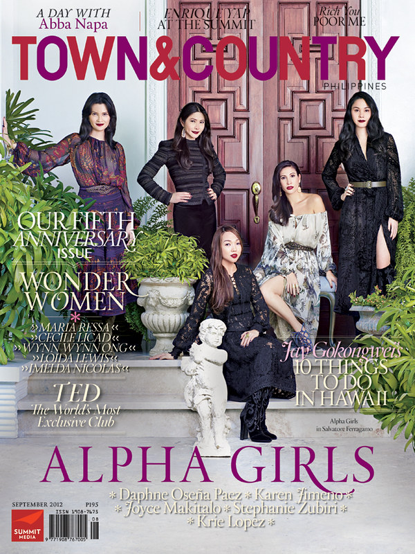 Town & Country - September 2012 - Cover