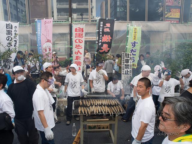 2012 目黒さんま祭り