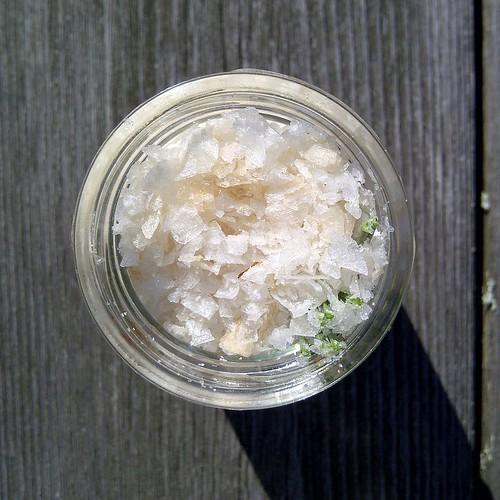 pine-smoked salt
