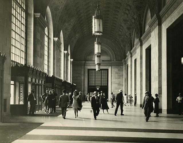 Terminal Tower interior, June 30, 1939