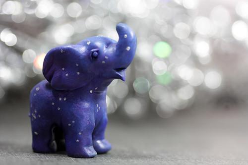 Starry Night Elephant