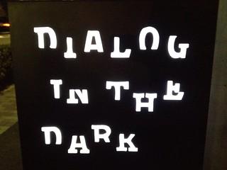 dialog in the dark