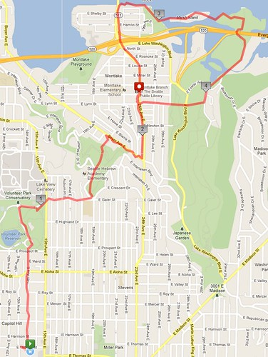 Today's awesome walk, 4.74 miles in 1:24 by christopher575