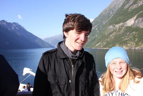 scenic cruising geirangerfjord