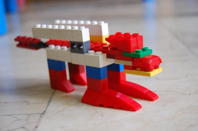 Lego Liger lion tiger