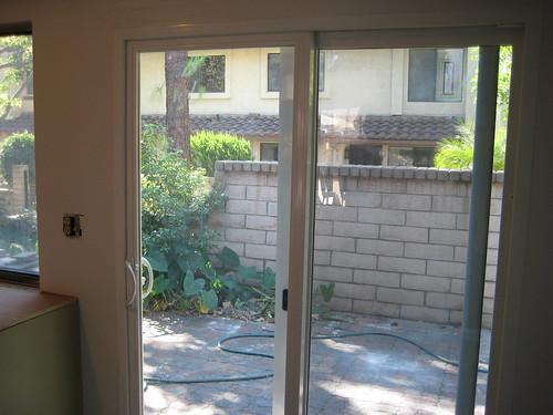 New slider door