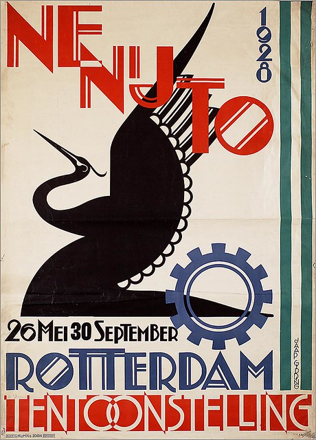 Jaap Gidding. Netherlands Industry Exhibition. 1928