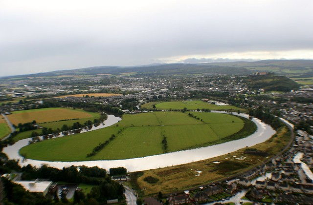 River Forth and Stirling from Wallace Monument