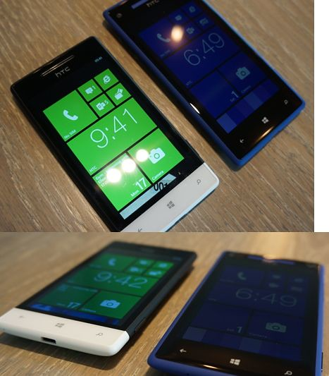 HTC Windows Phone 8X и Windows Phone 8S