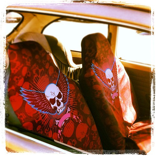 Skull Seat Covers
