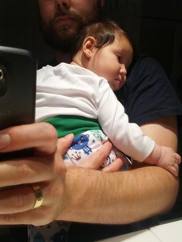 Lilos einschlafposition
