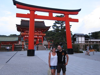 Helena and I at Fushimi Inari Taisha