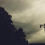 #latergram rainy day.