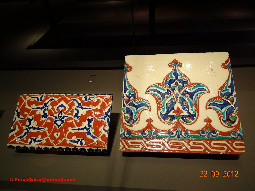 Ceramic tile from turkey shown in museum of islamic art qatar ceramic tile from turkey shown in museum of islamic art qatar dailygadgetfo Gallery