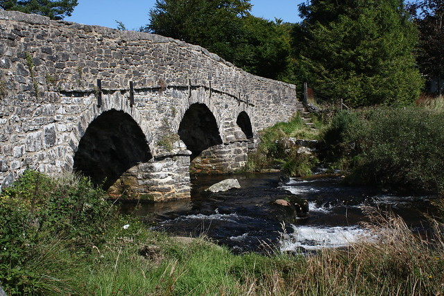 Clapper bridge at Postbridge