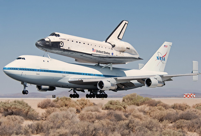 space shuttle carrier 747 american airlines - photo #11