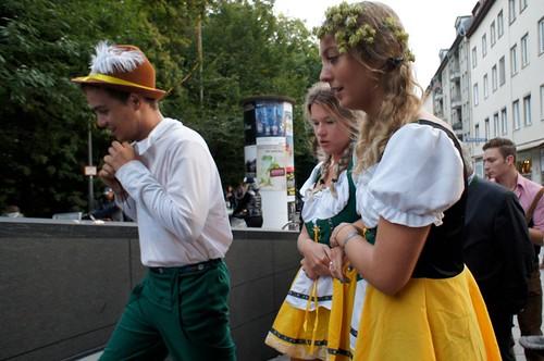 Costumes @ Oktoberfest 2012