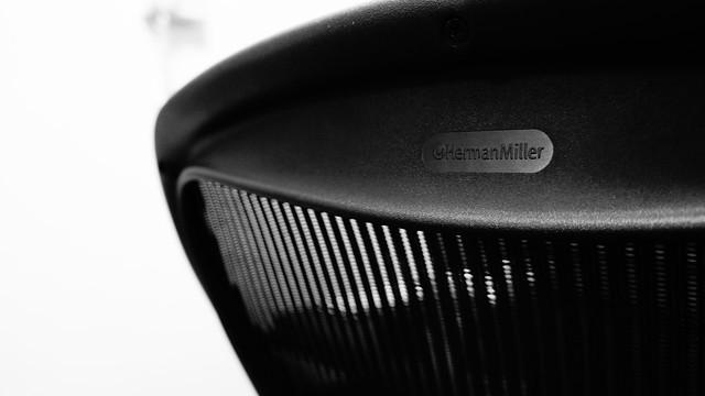 Aeron Chairs / Herman Miller