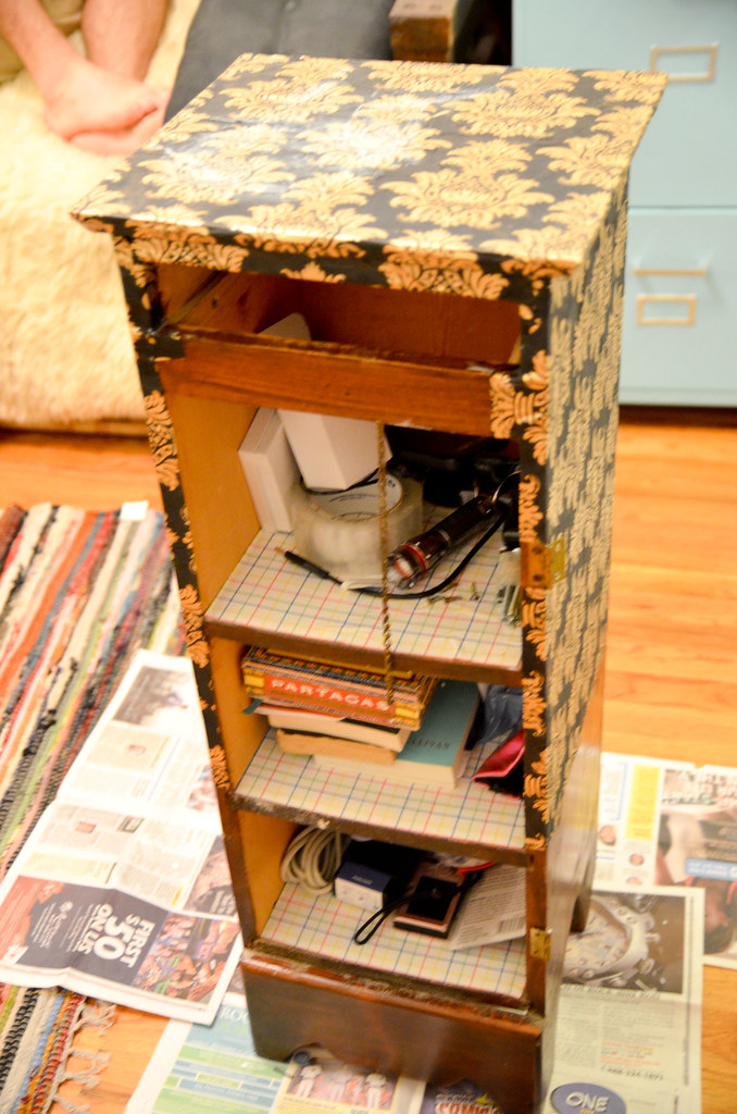 Decoupage Night Stand