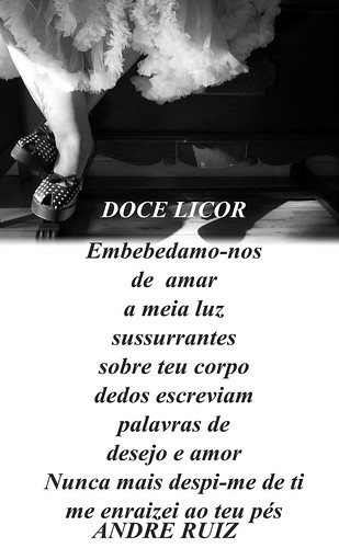 DOCE LICOR by amigos do poeta
