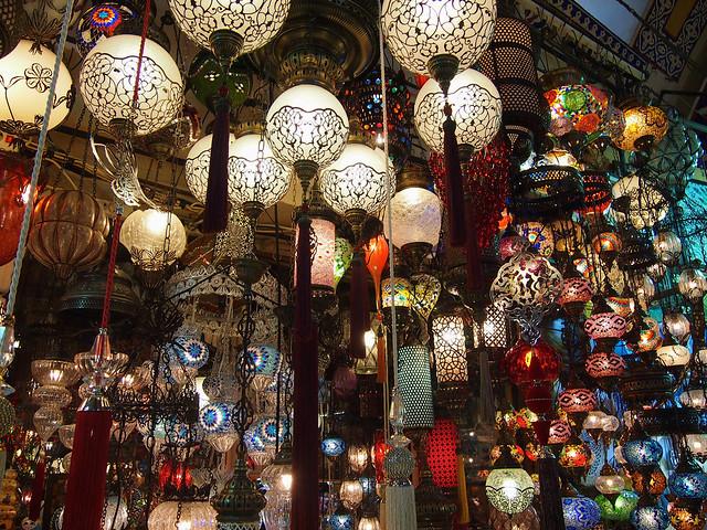 Lanterns, Istanbul