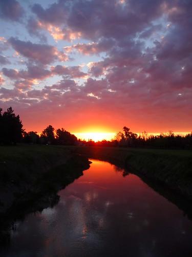 sunset sol atardecer cielo nubes rosario ocaso aprèsmidi brucespringsteen theriver fisherton ludueña diegostiefel