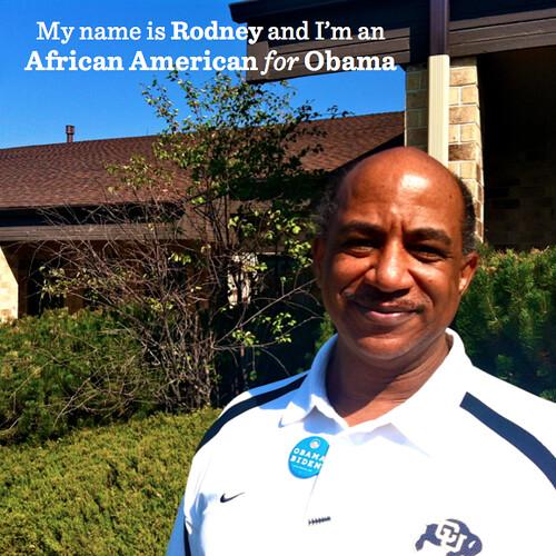 Rodney AfAm for Obama