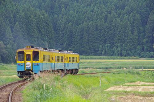 由利高原鉄道 YR1500形3両サヨナラ運転 #14