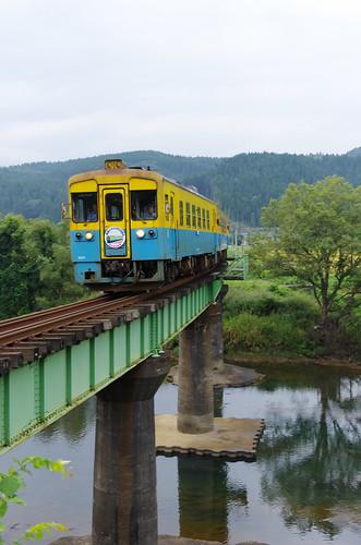 由利高原鉄道 YR1500形3両サヨナラ運転 #12