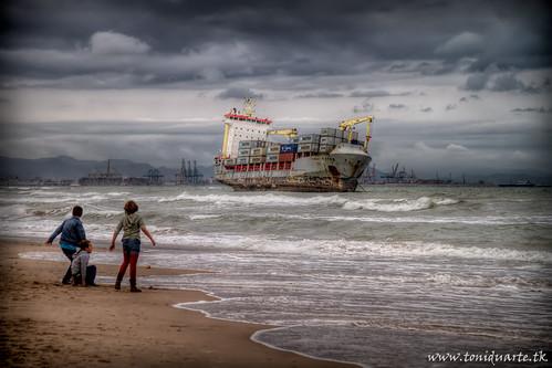 Barcos en el Saler