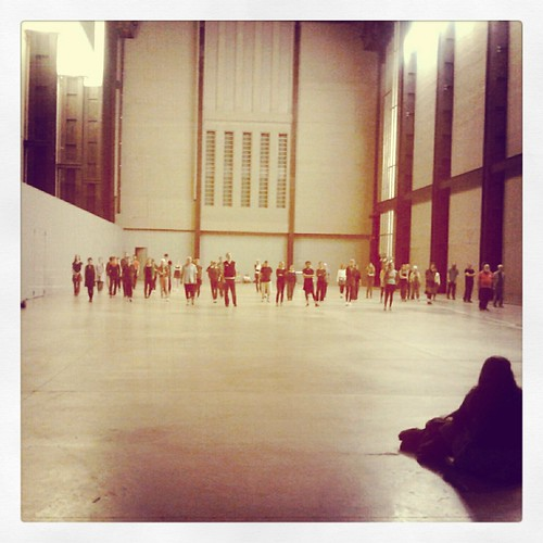 Performance alla Tate modern