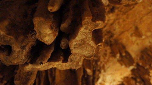 Luray Caverns - broken stalactites