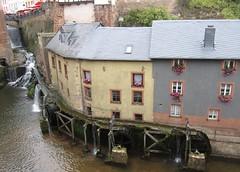 Saarburg water wheels