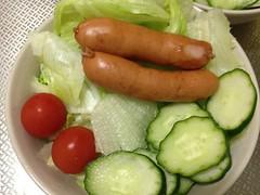 朝食サラダ (2012/9/3)